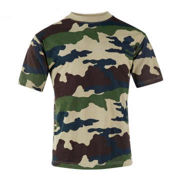TEE-SHIRT COTON CAMOUFLAGE